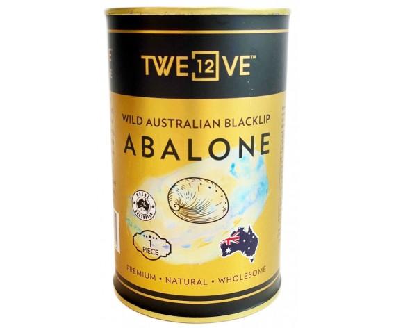 TWE12VE WILD AUSTRALIAN BLACKLIP PREMIUM ABALONE | 1PCS | 105GM/TIN | 特级澳洲野生一品鲍鱼 | AU