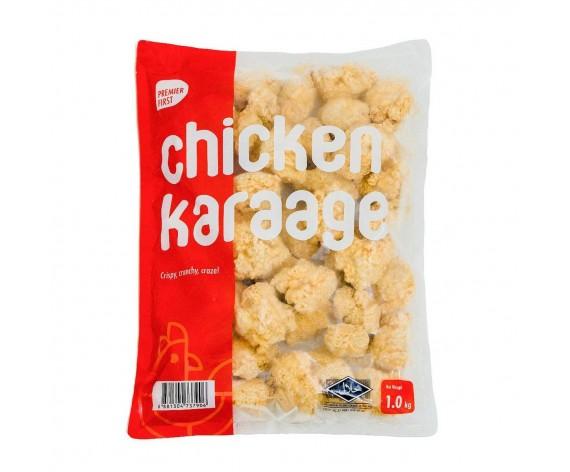 PB FROZEN CHICKEN KARAAGE | COOKED | 1KG/PKT | 冷冻日式香脆鸡 | TH