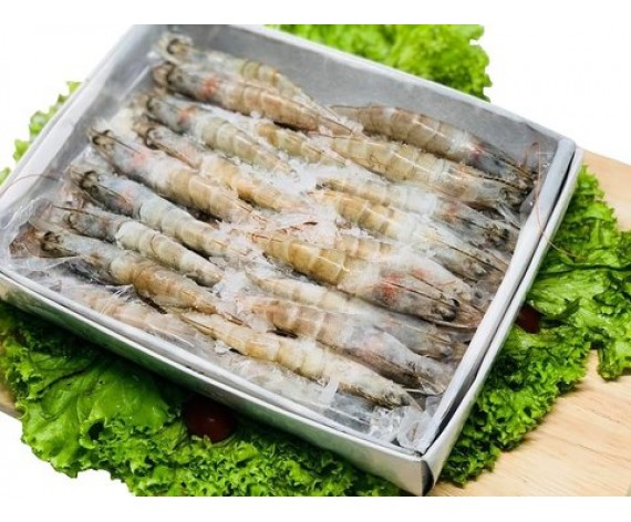 FROZEN PRAWN | LARGE SIZE | 31/35 | 30% GLAZING | 1KG/PKT | 大虾 | ID