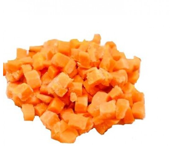 CARROT DICED (2.5KG/PKT) 萝卜切丁 (BE)